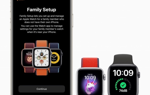 Apple Watch Family Setup.