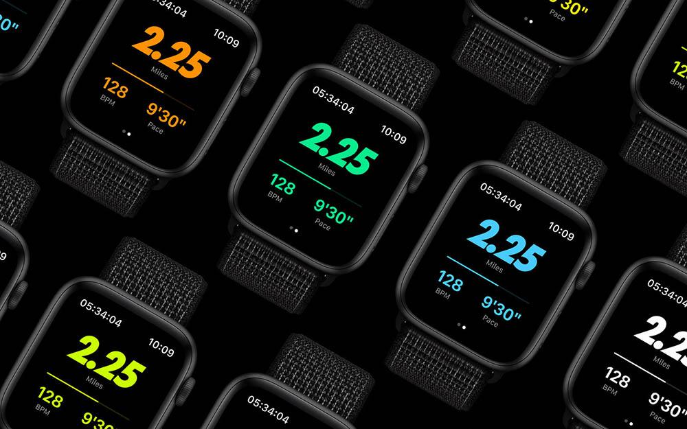 Apple Watch Nike+ Twilight Mode