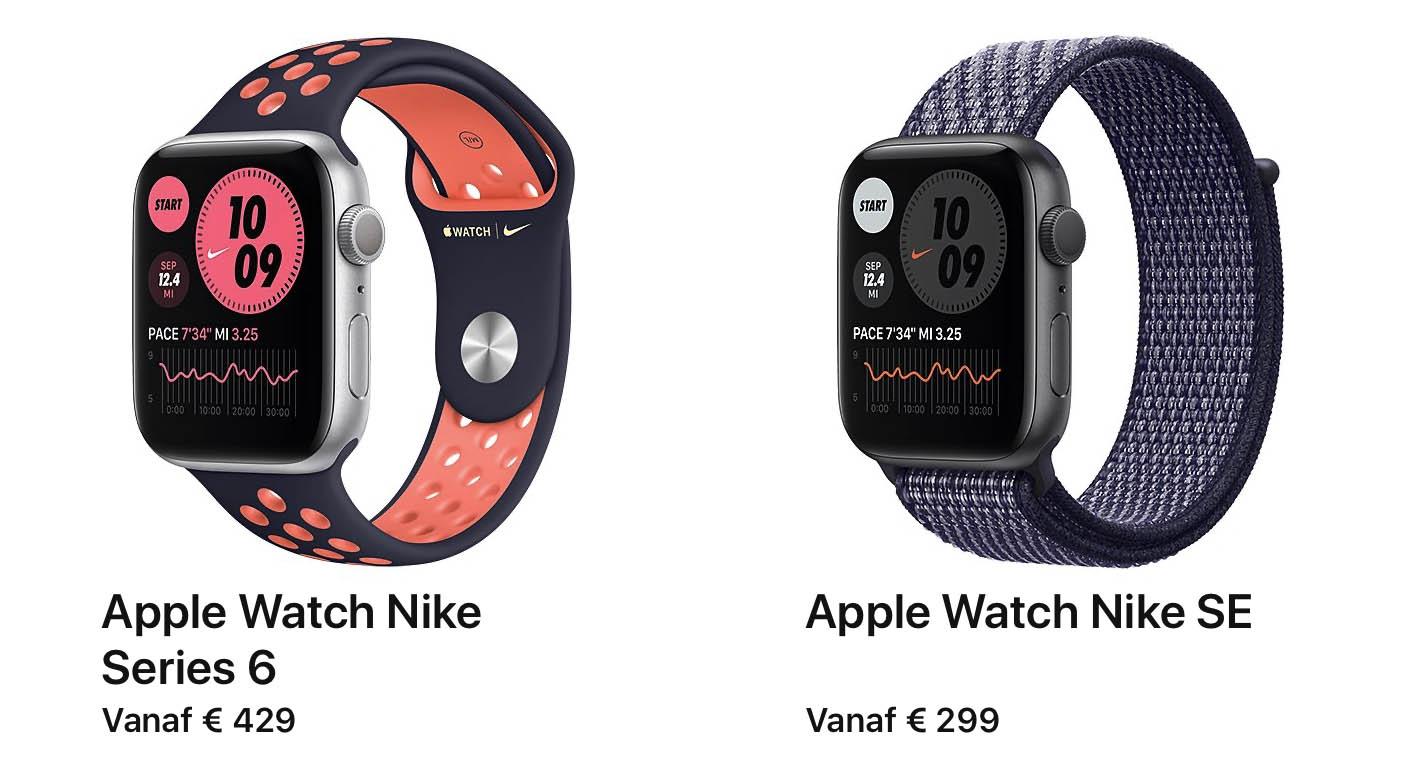 Apple Watch modellen 2020