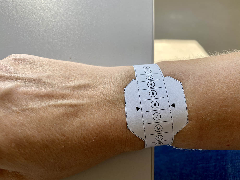 Apple Watch Soloband meten
