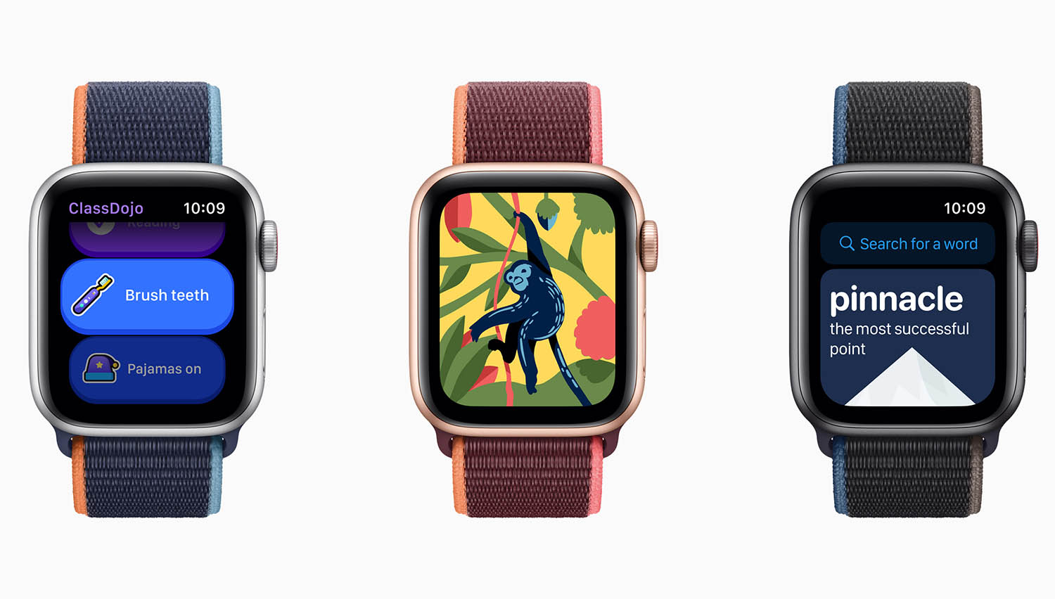 Kinderapps op Apple Watch