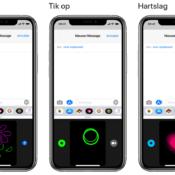 Digital Touch: Tekening, Tikken en Hartslag