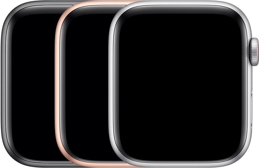 Apple Watch SE kleuren in aluminium.