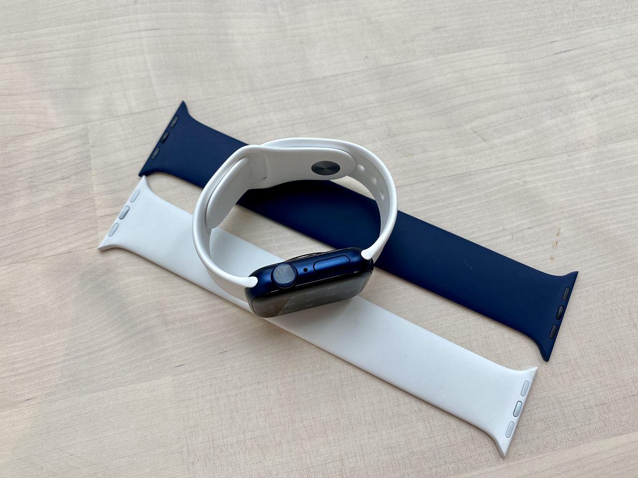 Apple Watch Series 6 met Solobandjes