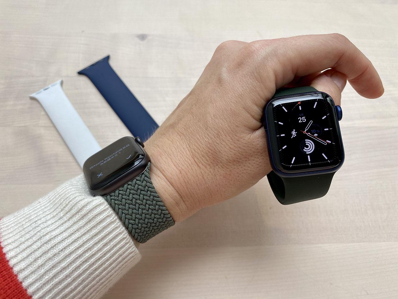 Apple Watch Series 6 review in de hand
