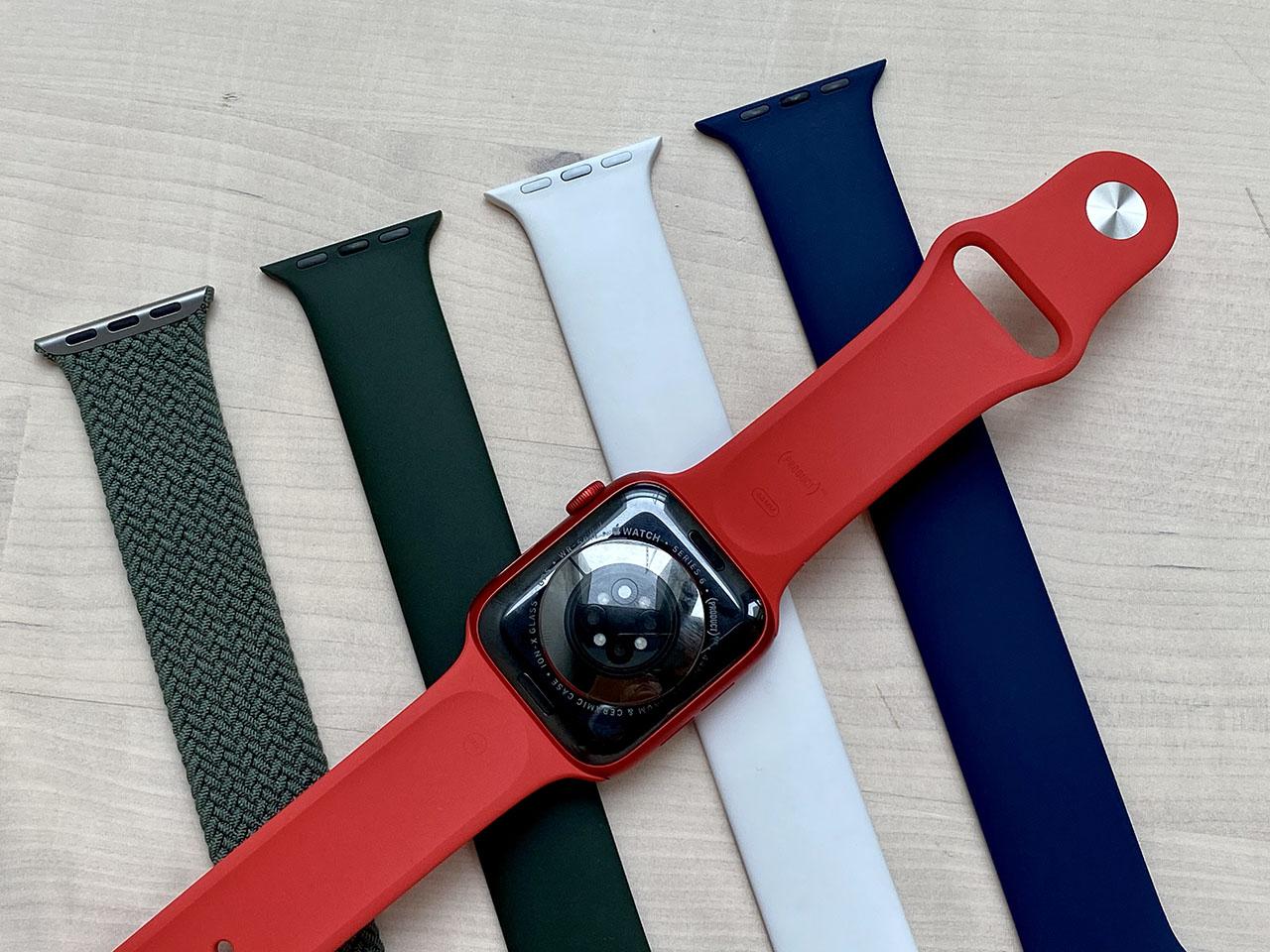 Achterkant van de Apple Watch Series 6