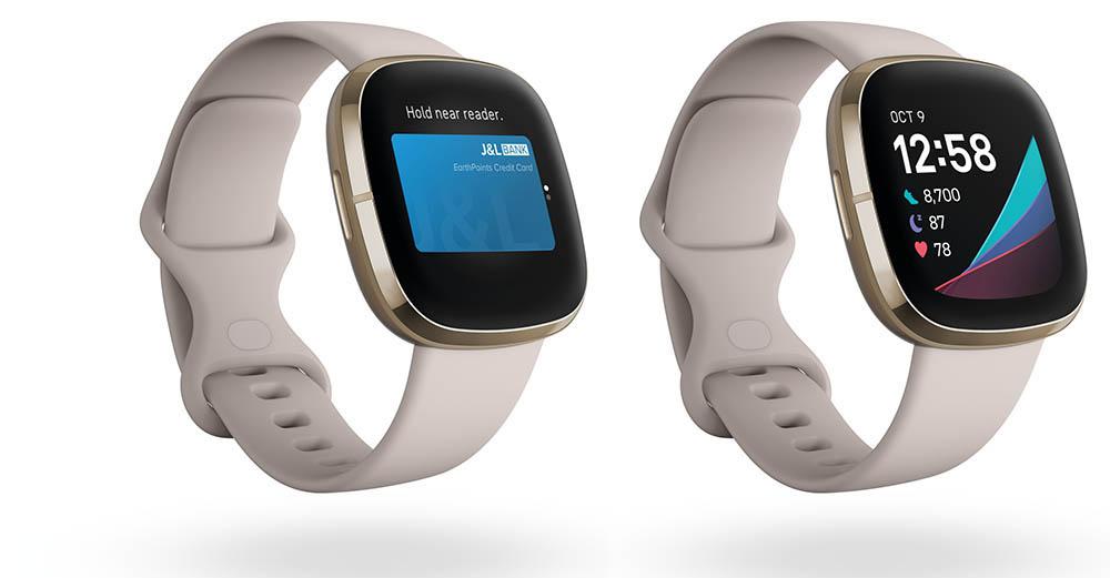 Fitbit Sense betalen en klok