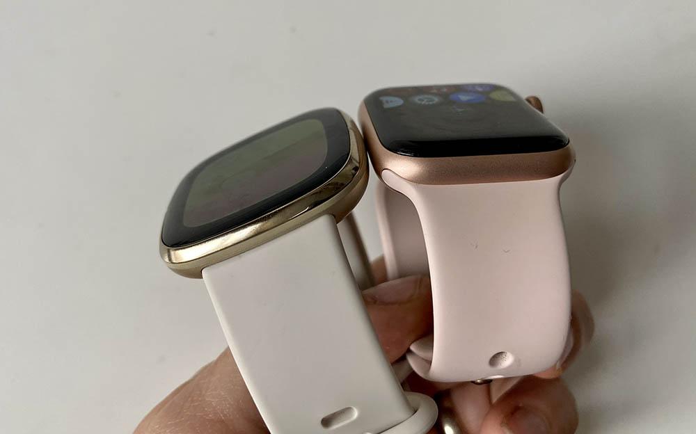 Apple Watch vs Fitbit Sense