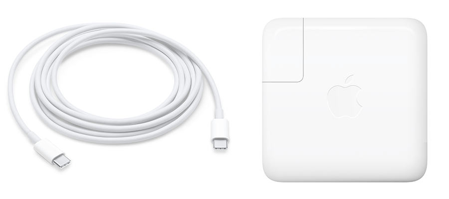 61 Watt adapter MacBook