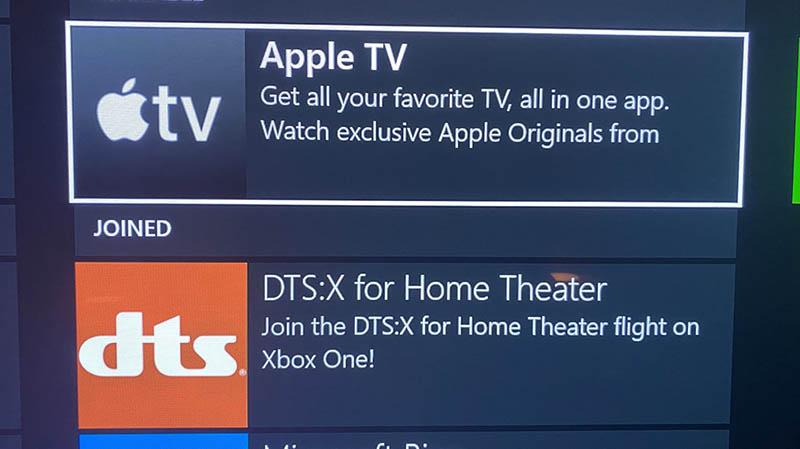 Xbox Apple TV-app