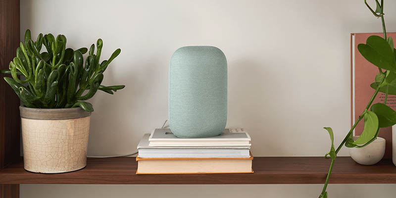 Google Nest Audio in groen