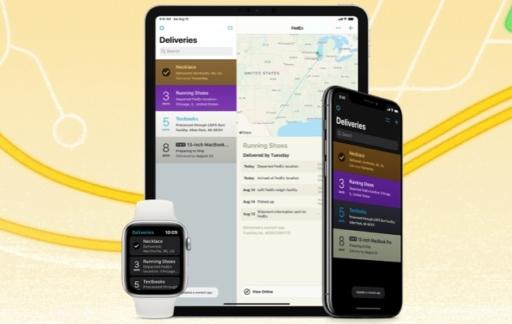 Deliveries voor iPhone, iPad en Apple Watch.