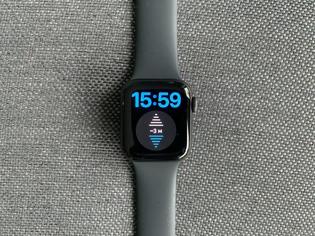 Apple Watch SE review: hoogtemeter.