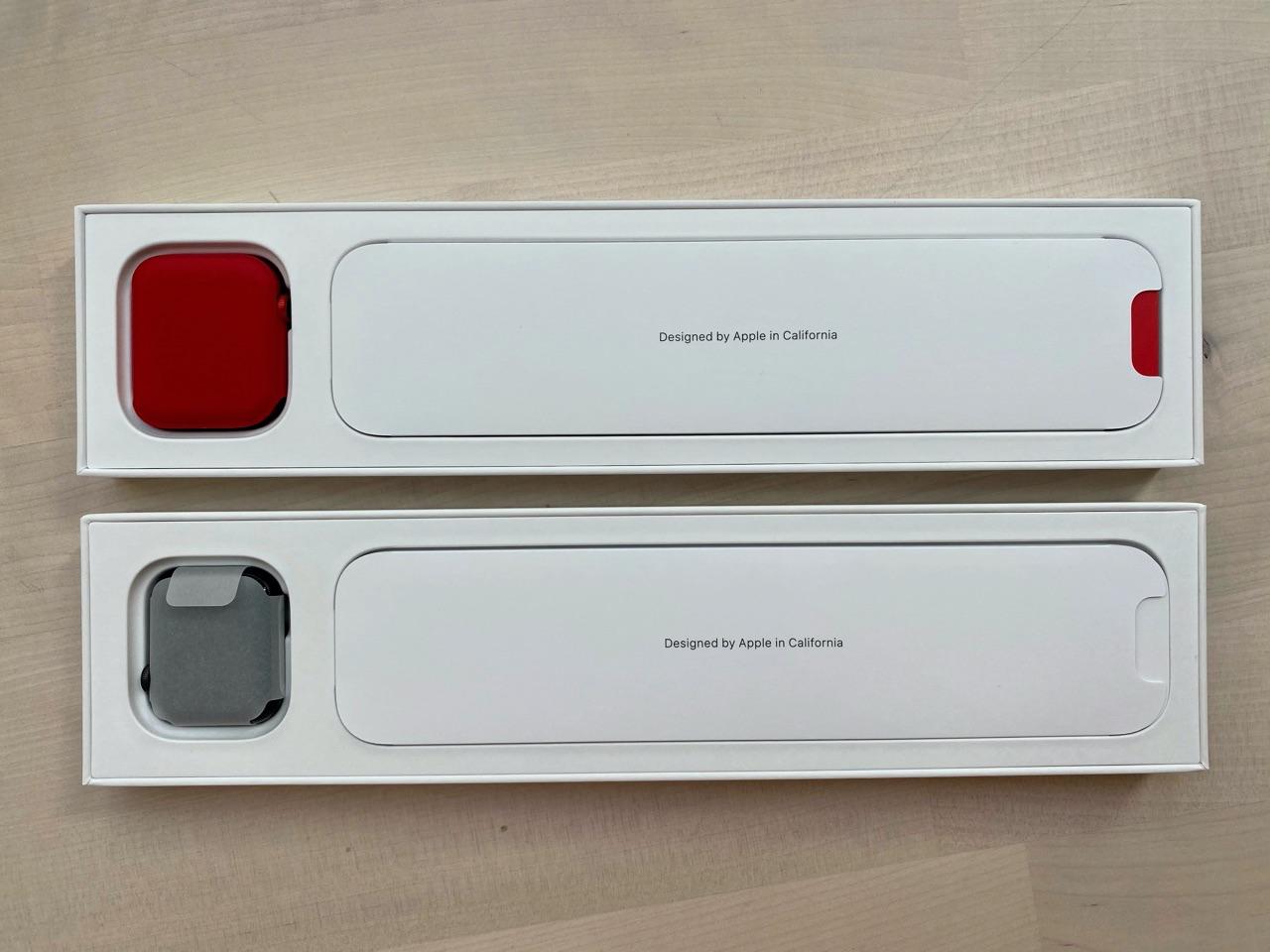 Apple Watch SE vs Apple Watch Series 6 verpakking.