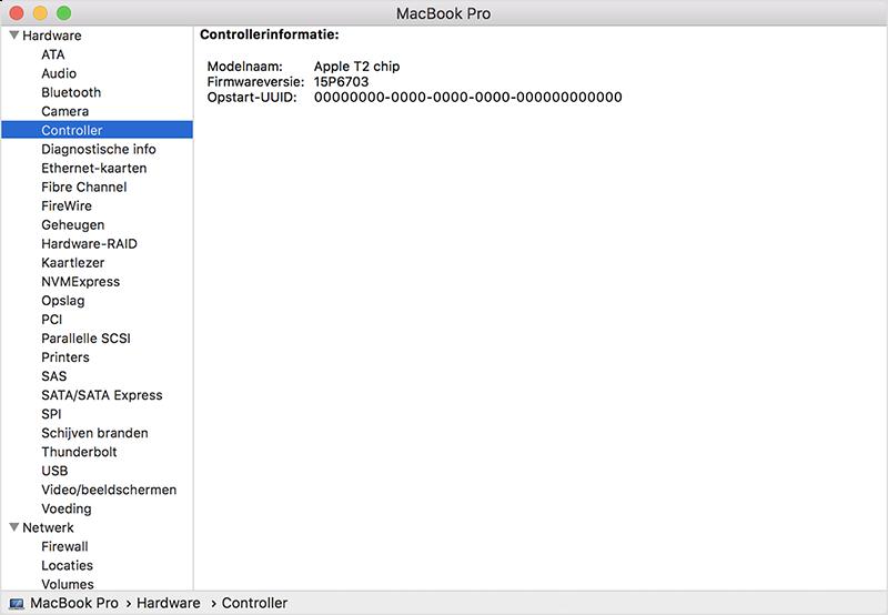 Mac T2-chip