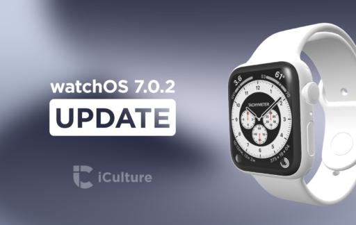 watchOS 7.0.2 update.