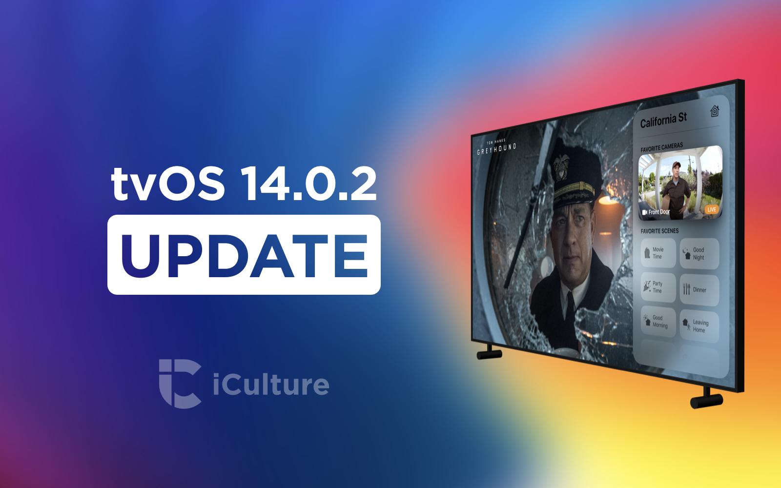 tvOS 14.0.2 update.
