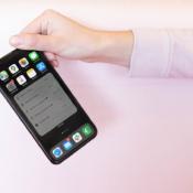 Batterijwidget op de iPhone