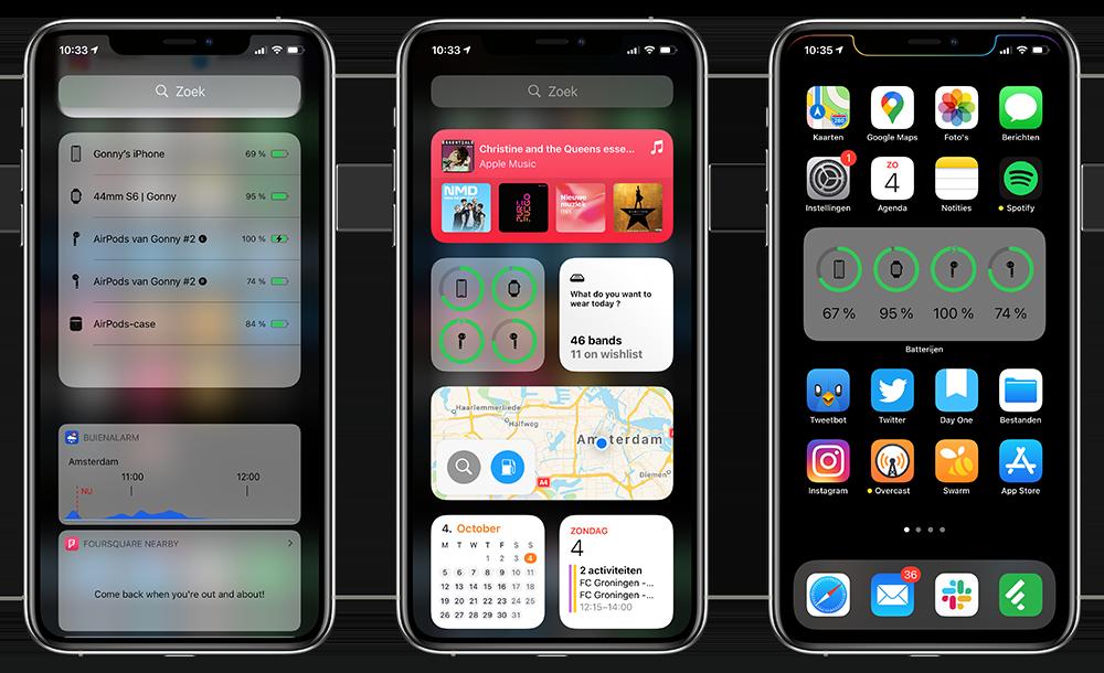 Batterijwidget voor iOS