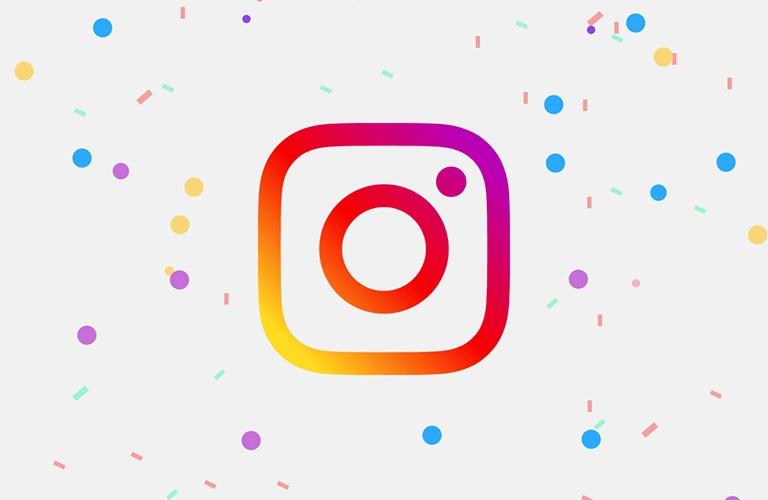Instagram 10 jaar appicoontje aanpassen.