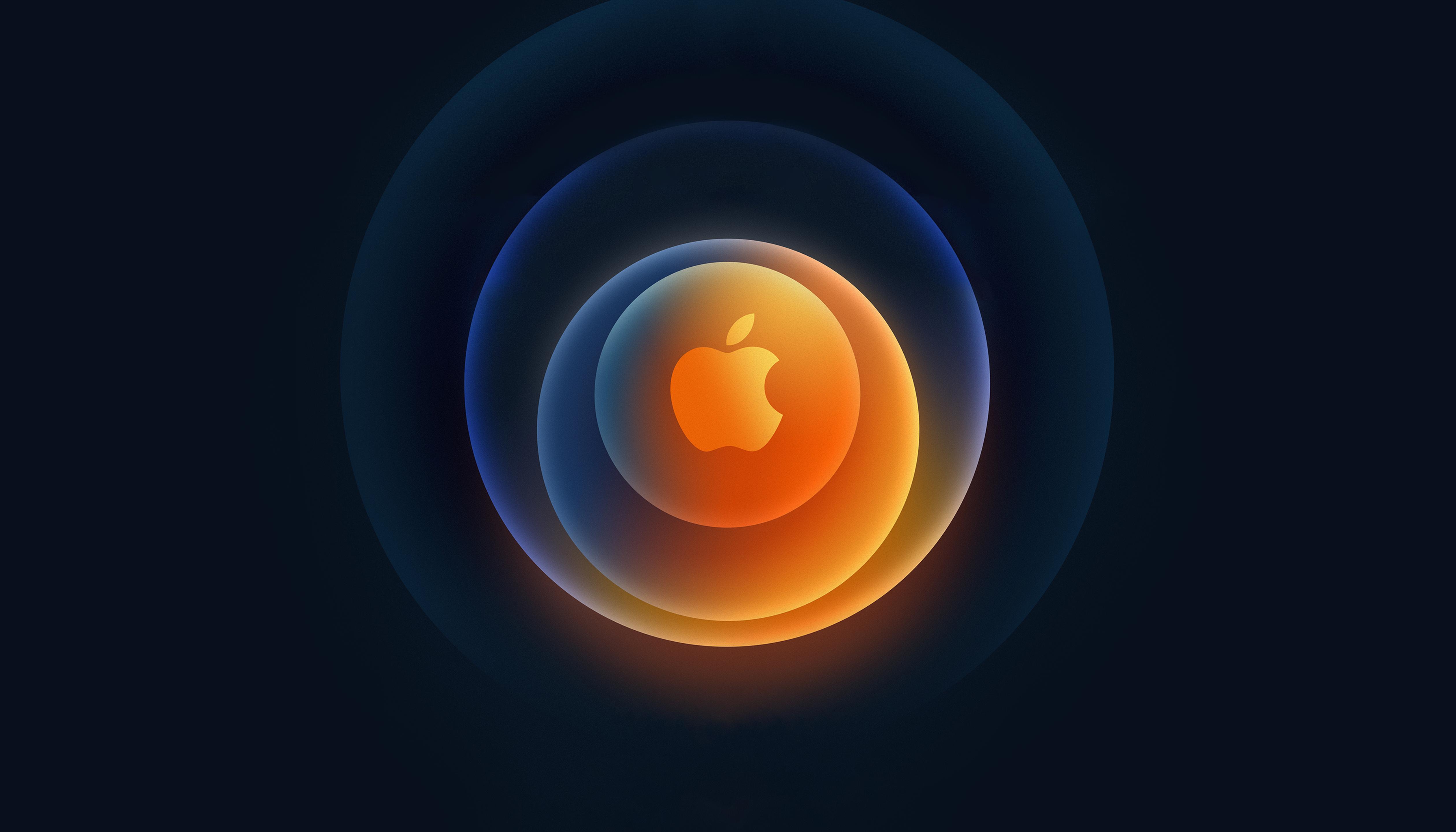 iPhone 12-event wallpaper voor iPad en Mac.