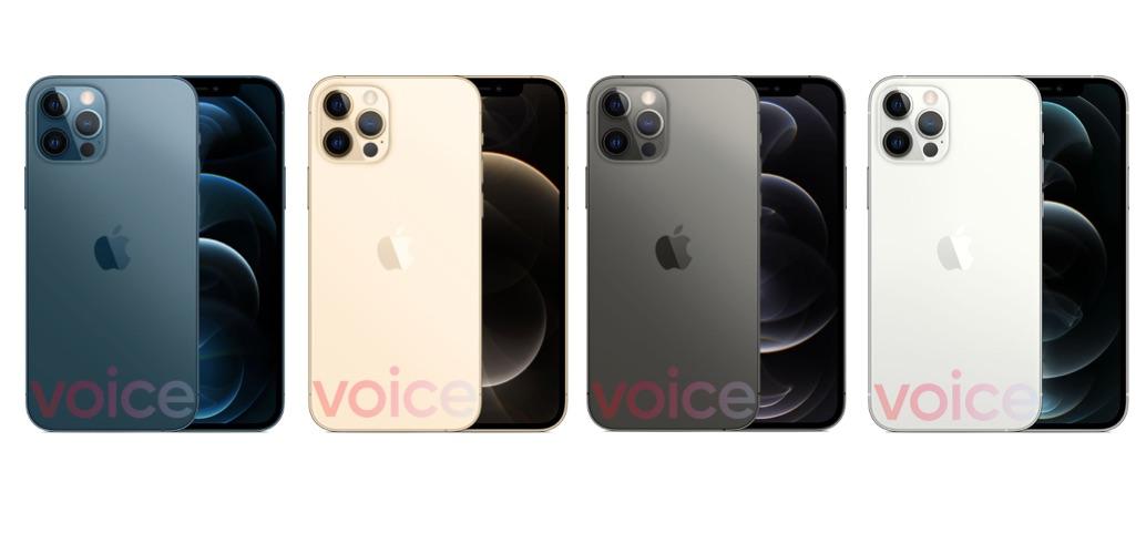 iPhone 12 Pro kleuren gelekt.