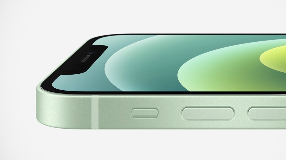 iPhone 12 scherm groen