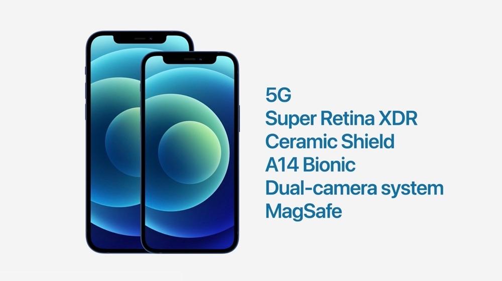 iPhone 12 en mini eigenschappen