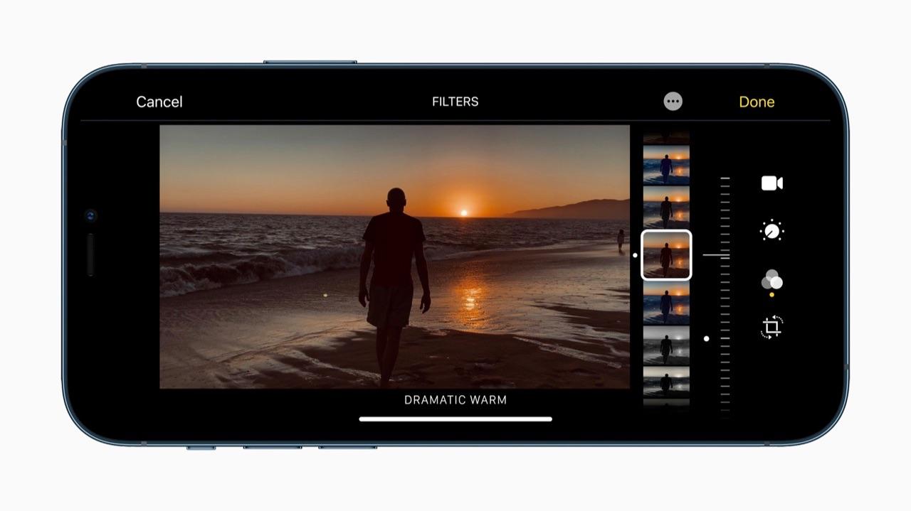 iPhone 12 Pro fotobewerking
