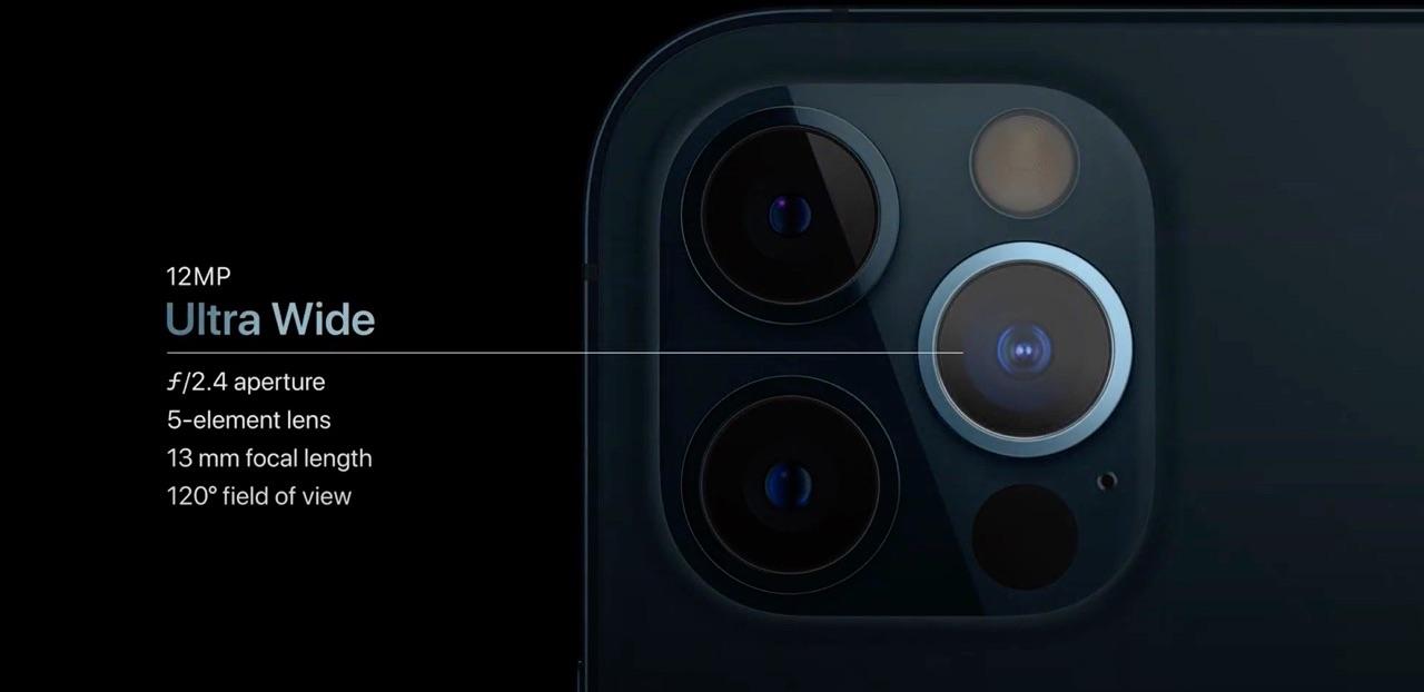 iPhone 12 Pro camera ultrawijd
