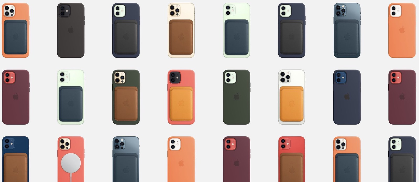 Apple's iPhone 12-hoesjes