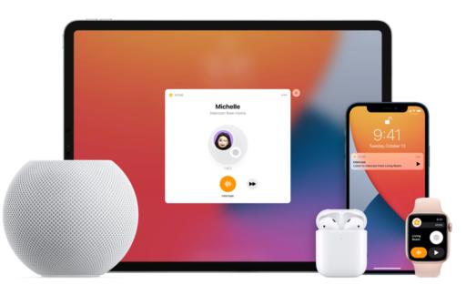 HomePod met Apple-apparaten