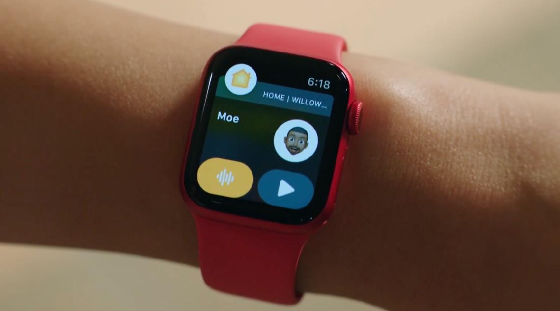 Intercom melding Apple Watch