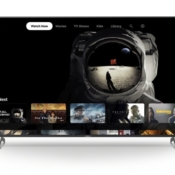 Sony smart-tv met Apple TV-app.