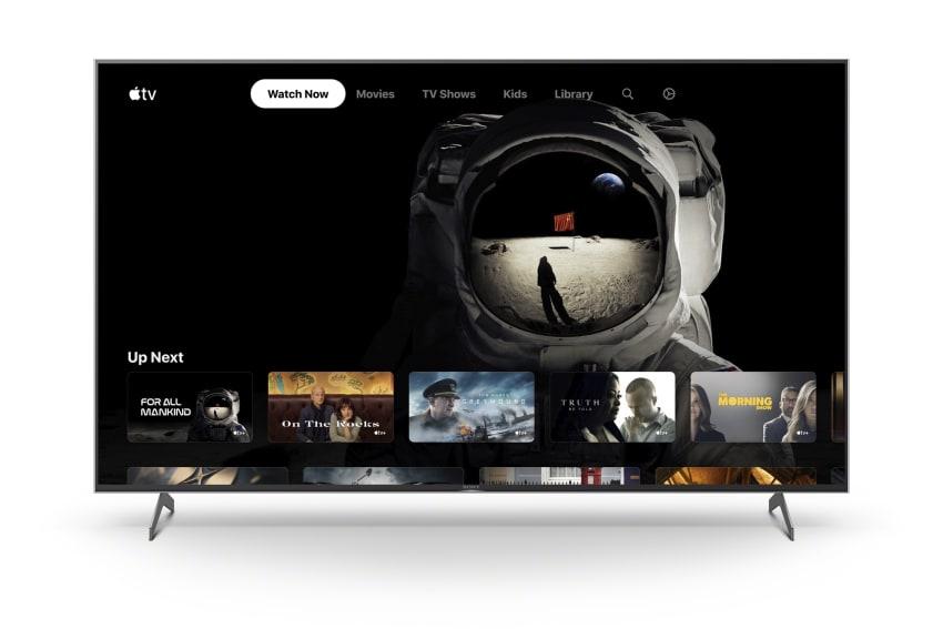 Sony smart-tv met Apple TV-app.