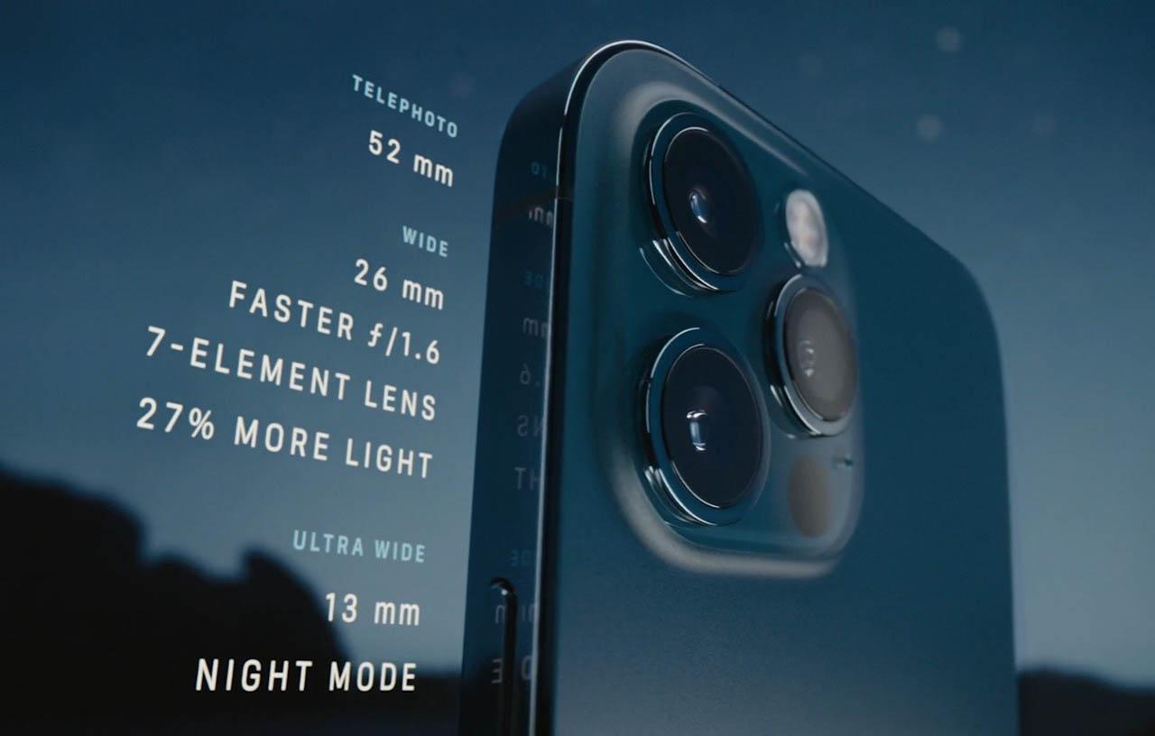 iPhone 12 Pro Max camera