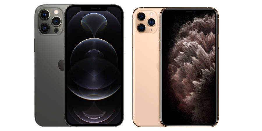 iPhone 12 Pro Max vs iPhone 11 Pro Max.