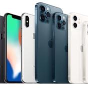 iPhone X vs iPhone 12 en iPhone 12 Pro.