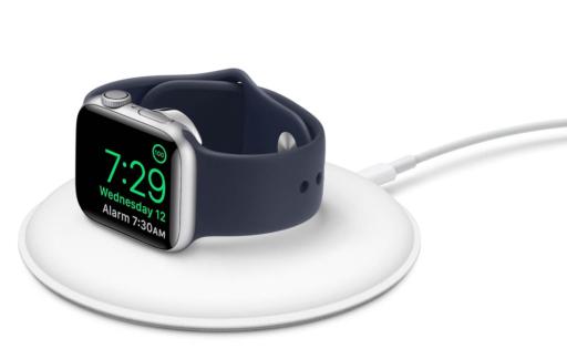 Apple Watch geoptimaliseerd opladen