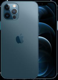 iPhone 12 Pro in blauw.