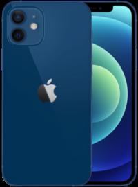 iPhone 12 in blauw.