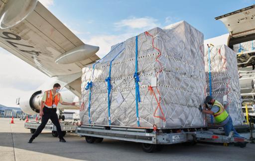 iPhone 12 voorraden vracht vliegtuig