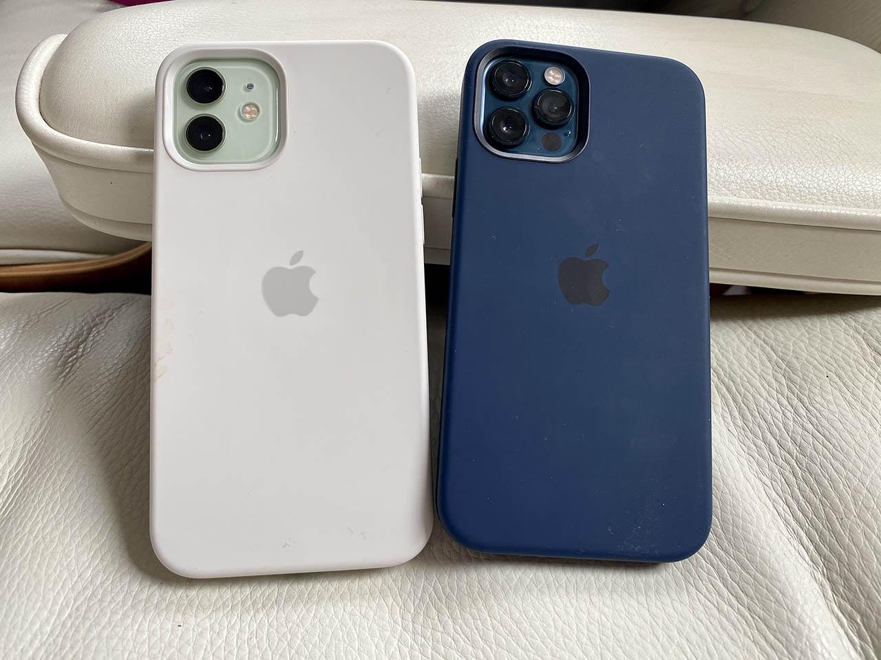 Apple siliconenhoes voor iPhone 12