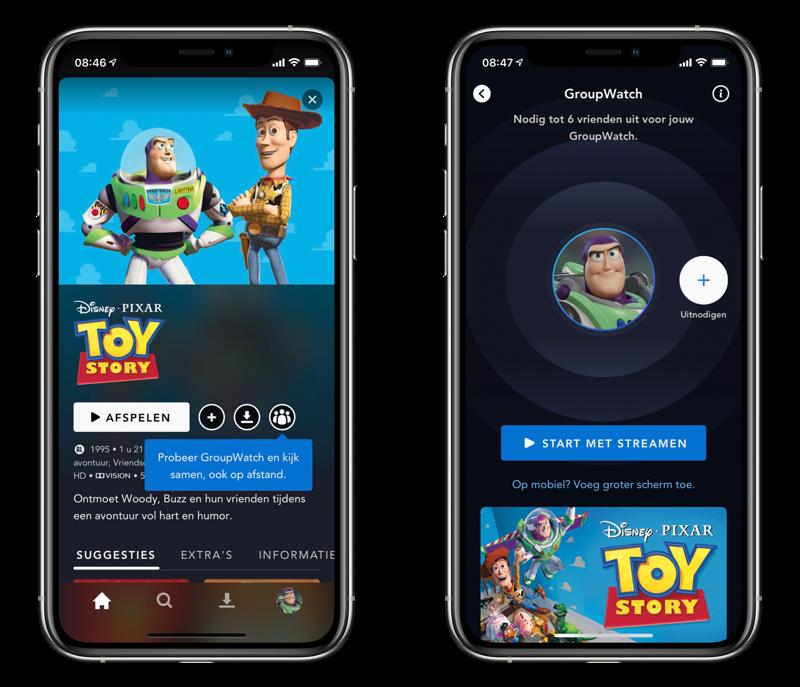 Disney Plus: samen kijken met GroupWatch.