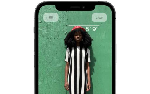 Lichaamslengte meten met iPhone