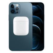 iPhone 12 met omgekeerd opladen van AirPods