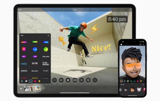 Clips 3 voor iPad en iPhone.