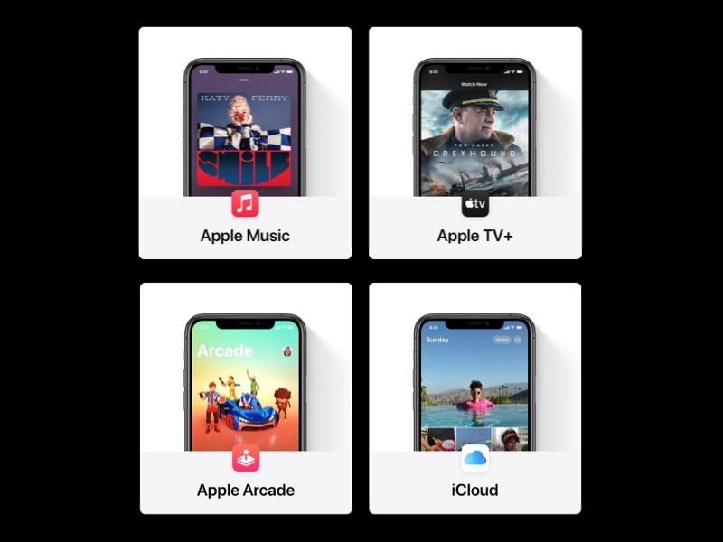 Apple One diensten in Nederland en België.