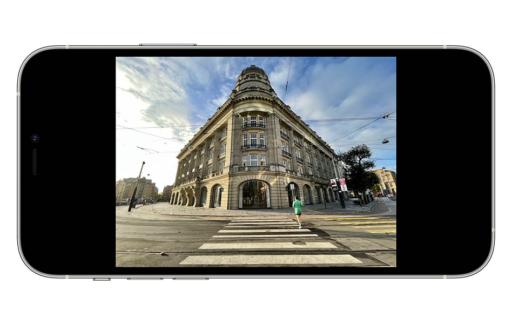 Lenscorrectie iPhone