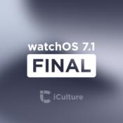 watchOS 7.1 Final.